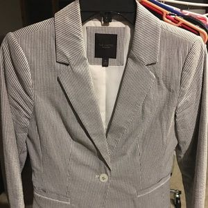 The Limited Seer Sucker Blazer